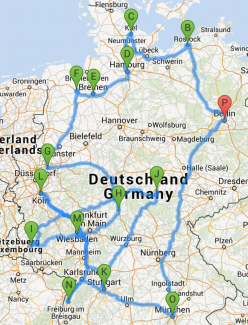 Biester-Tour-Route
